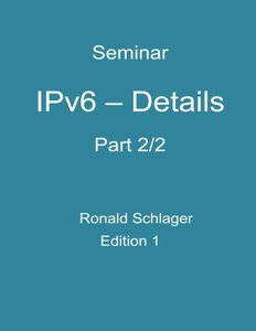 IPv6 - Details: Part 2/2 (Volume 2)-cover
