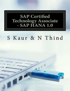 SAP Certified Technology Associate - SAP HANA 1.0-cover