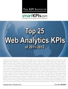 Top 25 Web Analytics KPIs of 2011-2012-cover