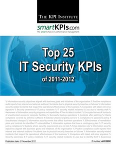 Top 25 IT Security KPIs of 2011-2012-cover