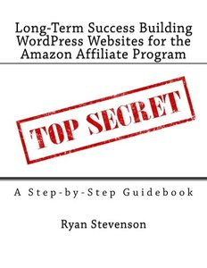Long-Term Success Building WordPress Websites for the Amazon Affiliate Program-cover