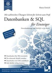Datenbanken & SQL für Einsteiger: Datenbankdesign und MySQL in der Praxis (German Edition)-cover