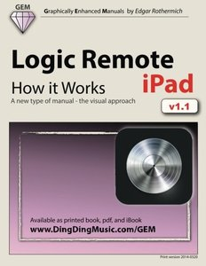 Logic Remote (iPad) - How it Works: A new type of manual - the visual approach-cover