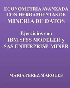 ECONOMETRIA AVANZADA CON HERRAMIENTAS DE MINERIA DE DATOS. Ejercicios con IBM SPSS MODELER y SAS ENTERPRISE MINER (Spanish Edition)-cover