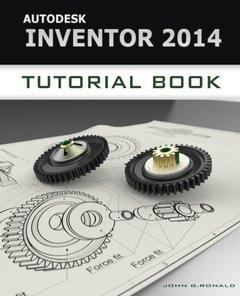 Autodesk Inventor 2014 Tutorial Book-cover