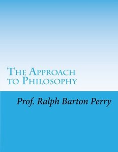 The Approach to Philosophy (Introduction and Approach to Basic Philosophy)-cover