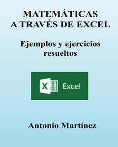 MATEMATICAS a través de EXCEL (Spanish Edition)-cover