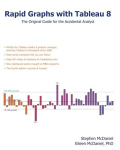 Rapid Graphs with Tableau Software 8: The Original Guide for the Accidental Analyst-cover