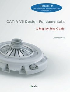 CATIA V5 Design Fundamentals: A Step by Step Guide-cover