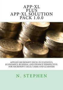 Applied Microsoft Excel (App-XL) in Statistics, Economics, Business, and Finance Perspective For Microsoft Excel Users and Learners-cover