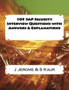 105 SAP Security Interview Questions with Answers & Explanations-cover