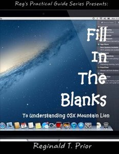 Fill In The Blanks To Understanding Mac OSX Mountain Lion-cover