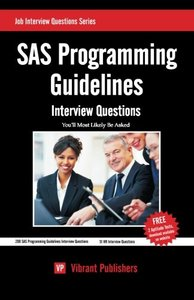SAS Programming Guidelines Interview Questions You'll Most Likely Be Asked-cover