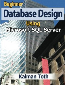Beginner Database Design Using Microsoft SQL Server-cover