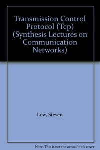Transmission Control Protocol (Tcp) (Synthesis Lectures on Communication Networks)-cover
