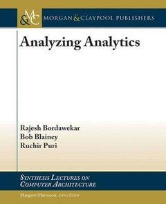Analyzing Analytics (Synthesis Lectures on Computer Architecture)-cover