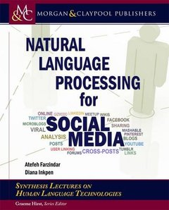 Natural Language Processing for Social Media (Synthesis Lectures on Human Language Technologies)-cover