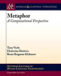 Metaphor: A Computational Perspective (Synthesis Lectures on Human Language Technologies)-cover