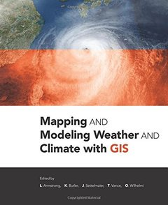 Mapping and Modeling Weather and Climate with GIS (Paperback)-cover