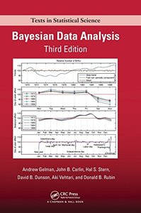 Bayesian Data Analysis, Third Edition (Chapman & Hall/CRC Texts in Statistical Science)-cover
