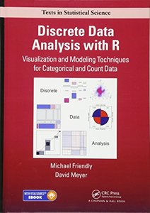 Discrete Data Analysis with R: Visualization and Modeling Techniques for Categorical and Count Data (Chapman & Hall/CRC Texts in Statistical Science)-cover