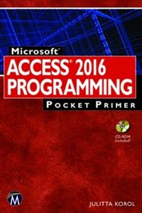 Microsoft Access 2016 Programming Pocket Primer-cover
