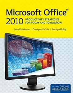 Microsoft Office 2010: Productivity Strategies For Today And Tomorrow-cover