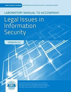 Lab Manual To Accompany Legal Issues In Information Security-cover