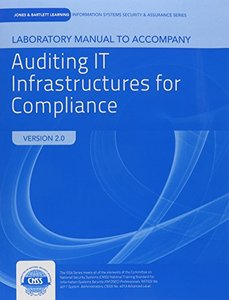 Lab Manual To Accompany Auditing IT Infrastructure For Compliance-cover