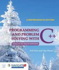 Programming And Problem Solving With C++: Comprehensive-cover
