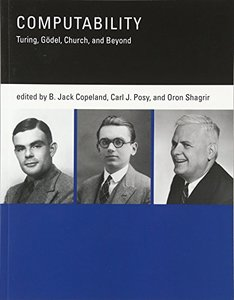 Computability: Turing, Godel, Church, and Beyond-cover
