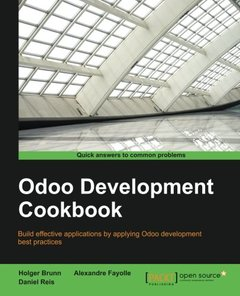 Odoo Development Cookbook-cover