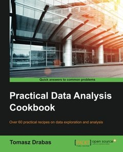Practical Data Analysis Cookbook-cover
