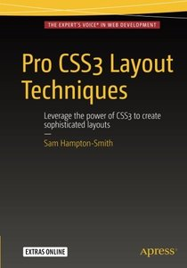Pro CSS3 Layout Techniques-cover