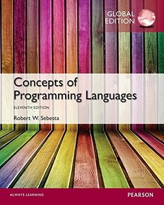 Concepts of Programming Languages, 11/e (IE-Paperback)-cover