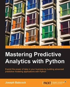 Mastering Predictive Analytics with Python (Paperback)-cover