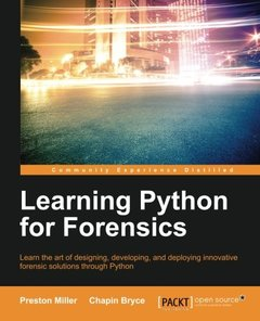 Learning Python for Forensics-cover