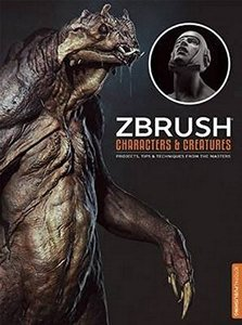 ZBrush Characters and Creatures-cover
