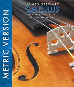 Calculus: Early Transcendentals, 8/e (Metric Version) (Hardcover)-cover
