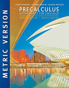 Precalculus: Mathematics for Calculus, 7/e (Paperback)-cover