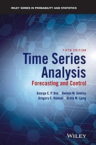 Time Series Analysis: Forecasting and Control, 5/e (Hardcover)-cover