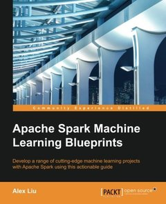 Apache Spark Machine Learning Blueprints (Paperback)-cover