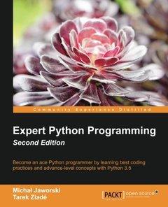 Expert Python Programming, 2/e (Paperback)-cover