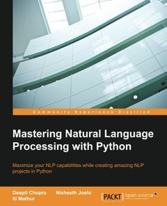 Mastering Natural Language Processing with Python-cover