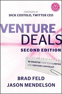 Venture Deals: Be Smarter Than Your Lawyer and Venture Capitalist (Hardcover)-cover