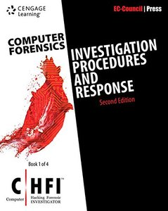 Computer Forensics: Investigation Procedures and Response (CHFI), 2/e (Paperback)-cover