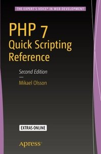 PHP 7 Quick Scripting Reference-cover