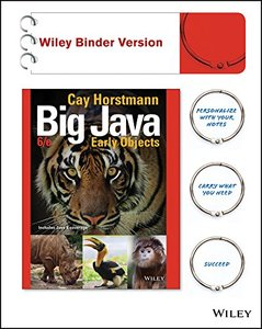 Big Java, Binder Ready Version: Early Objects-cover