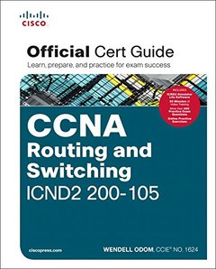 CCNA Routing and Switching ICND2 200-105 Official Cert Guide-cover
