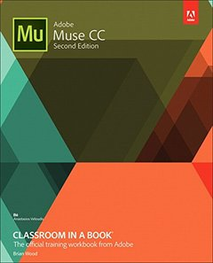 Adobe Muse CC Classroom in a Book, 2/e (Paperback)-cover